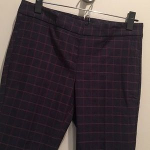 The Limited Exact Stretch plaid ankle pant size 4